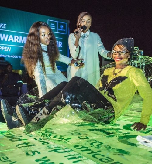 Production management: Nedbank Icebed CSI Project with Bonang Matheba and Boity Thuli